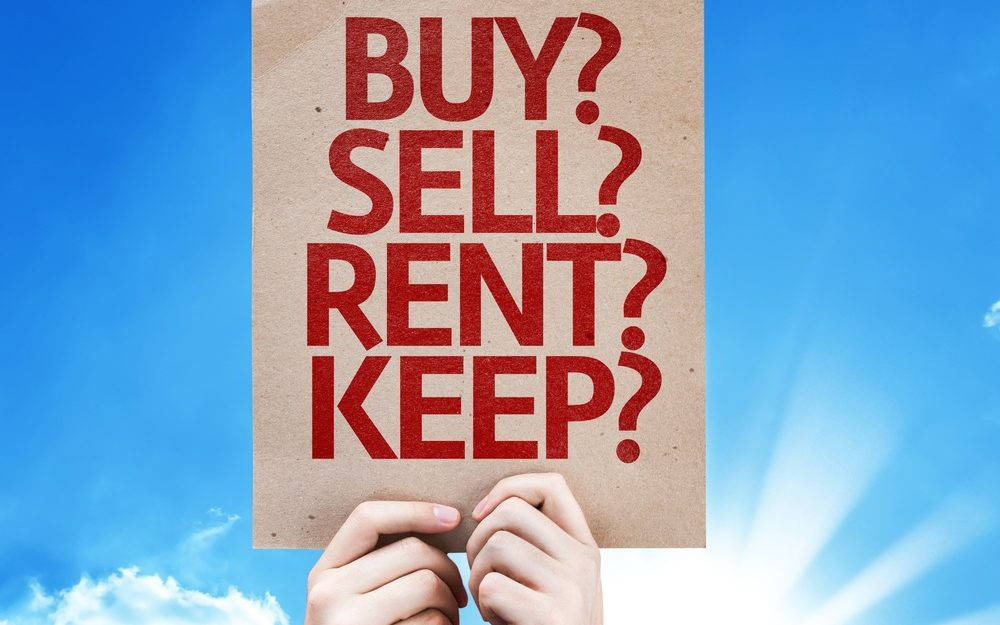 Real-Estate Investing: Keep Or Sell.
