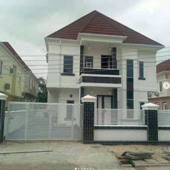 5 bedrooms fully detached duplex, Crown Estate, Sangotedo, Lagos.