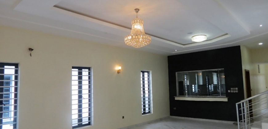 4 units of 5 bedroom fully detached duplex with a room BQ, Megamound estate, Ikota-Lekki.