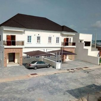 4Bedroom Semi-detached house, All rooms en-suite, Abraham Adesanya estate, Lekki