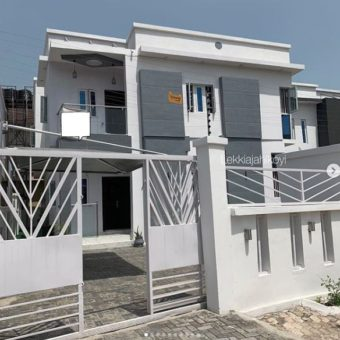 4 bedroom detached house, Chevron Lekki Lagos