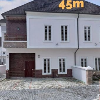 4 Bedroom Semi Detached Duplex with a BQ in Ikota, Lekki. Lagos State.