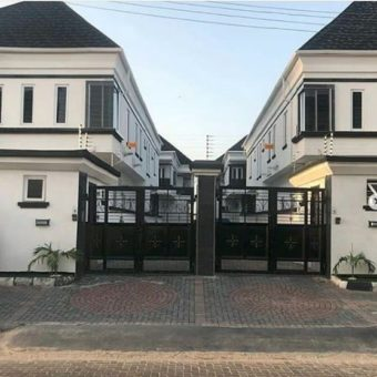 5 Bedrooms Detached Duplex with a Room BQ, Chevron, Lekki